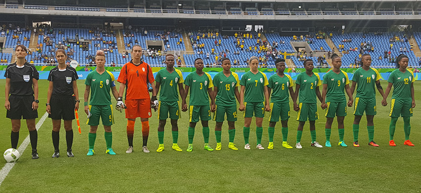 Banyana Banyana go down to Sweden in Olympic opener