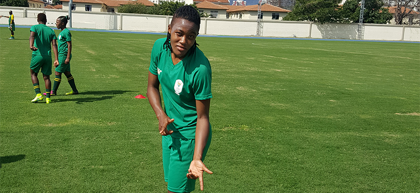 Banyana Banyana's forward ruled out of the Olympics due to injury