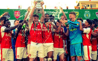 Defending Champions Arsenal FC wins the Durban u19 international tournament