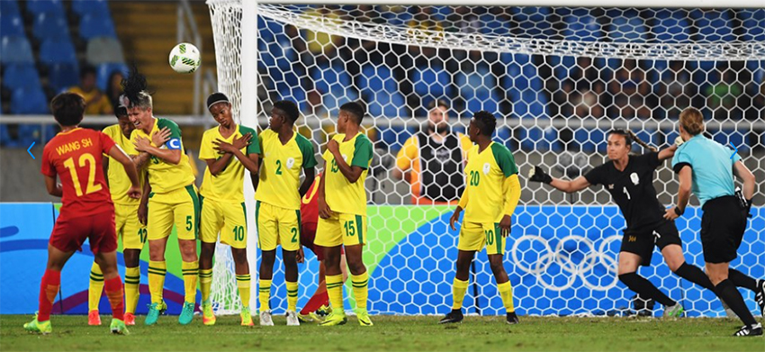 Banyana Banyana's dream over at the Olympics