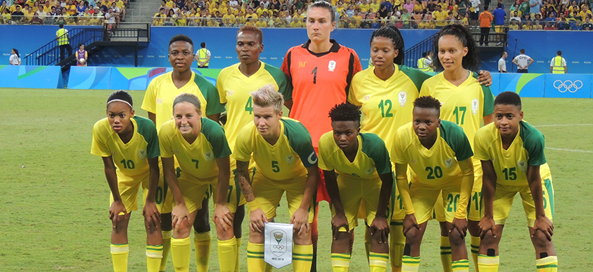 Banyana Banyana bow out of Olympics with draw against Brazil