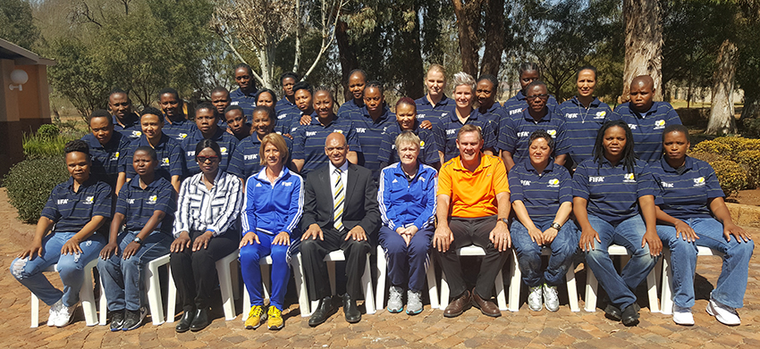 FIFA Women's Coaching Course gets underway