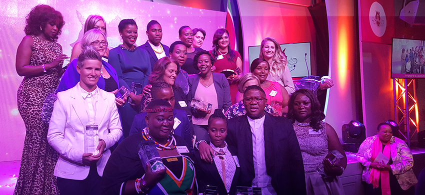 Banyana Banyana players honoured at gsport Awards