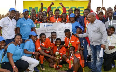 Rosina Sedibane are the Gauteng Champions of the Kay Motsepe Schools Cup
