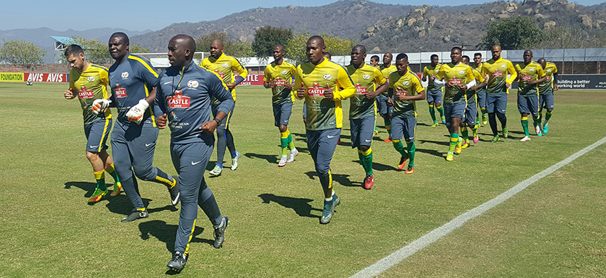 Mashaba has full compliment of players in camp