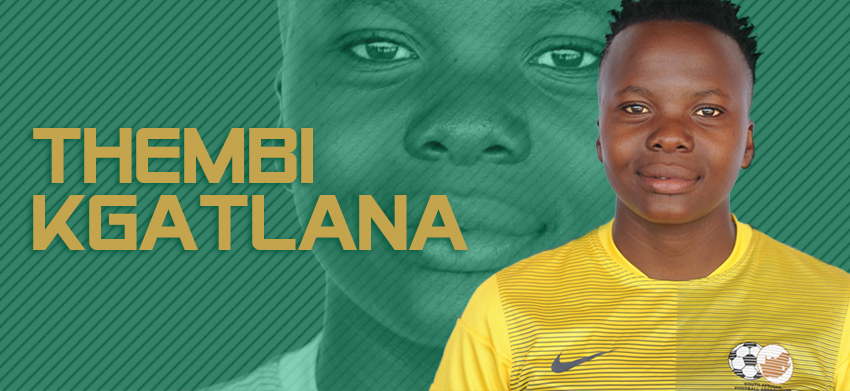 Kgatlana replaces Nogwanya in the Women's Olympic squad