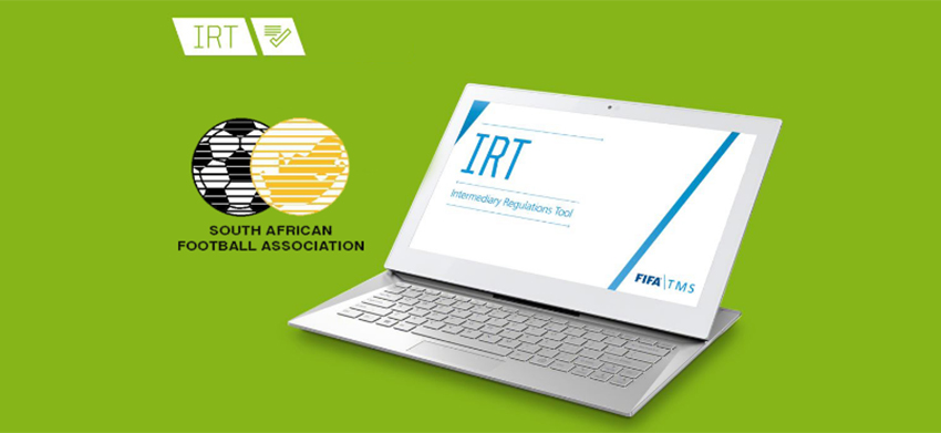South African Football Association adopts FIFA TMS's Intermediary Regulations Tool