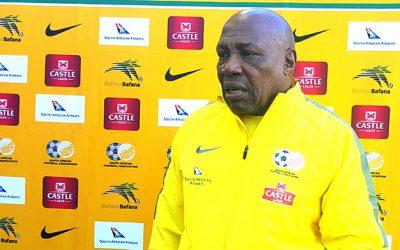 Mashaba announces starting 11 to face Mauritania, with Hlatshwayo as captain