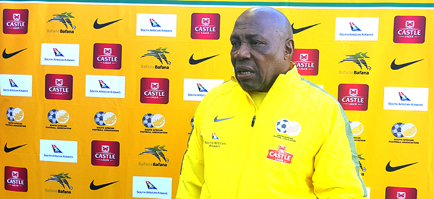 Mashaba announces starting 11 to face Mauritania, with Hlatshwayo as captain
