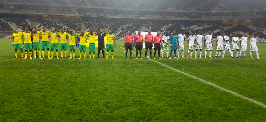 Bafana Bafana end AFCON campaign with a draw against Mauritania