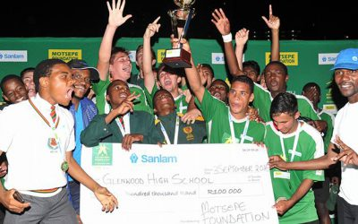 Glenwood High, Champs of Kay Motsepe Cup in KZN