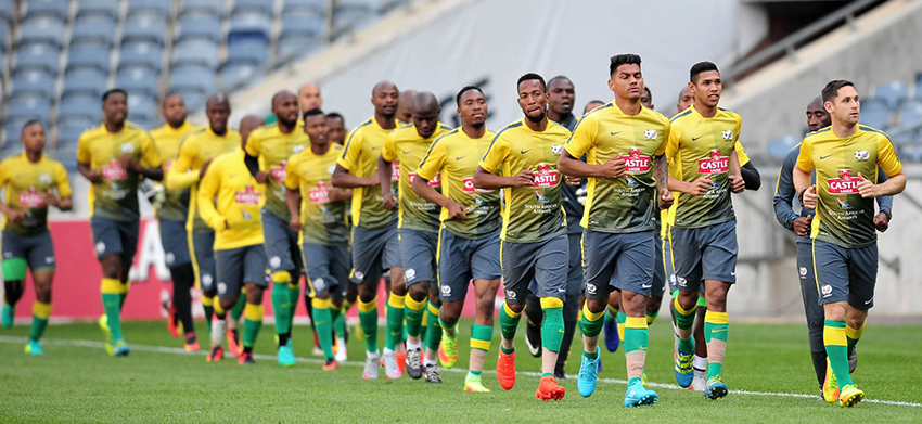 Mashaba rings changes for Egypt clash, retains Hlatshwayo as captain
