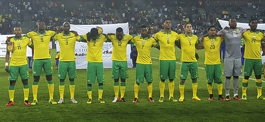 Bafana Bafana beat Egypt to win the NMC