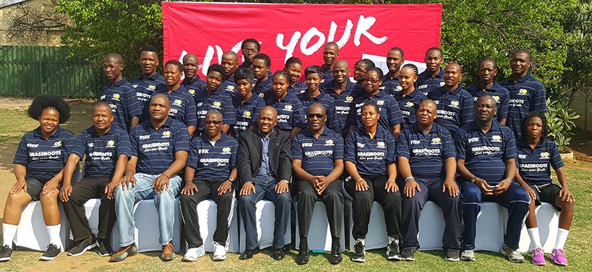 SAFA Legweleputsa hosts FIFA Grassroots Programme