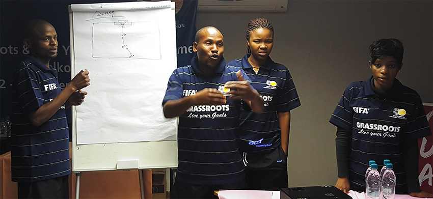 The FIFA Grassroots Programme is important and interactive