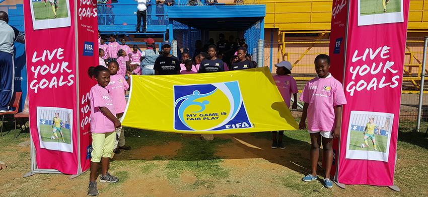 SAFA Lejweleputswa conclude FIFA Grassroots, Live Your Goals festival