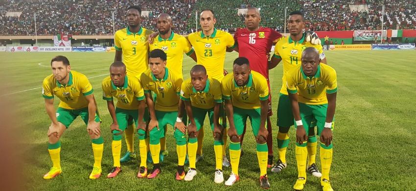 Bafana Bafana concede late to draw with Burkina Faso
