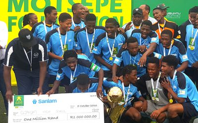 Clapham High School retain the Kay Motsepe title
