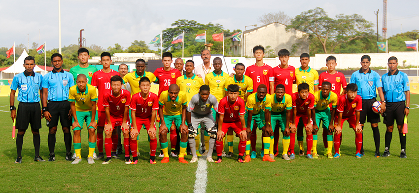 Amajimbos disappointed with draw against China