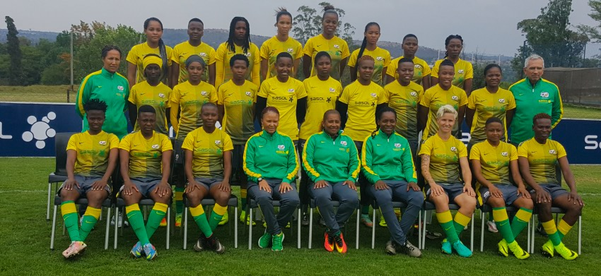 Mashaba wishes Ellis and co well in their first Banyana Banyana match