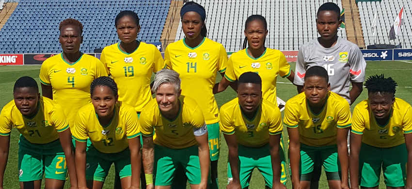 Banyana Banyana wallop Egypt in friendly