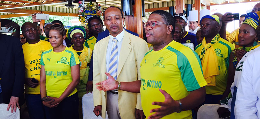 Mashaba applauds Sundowns