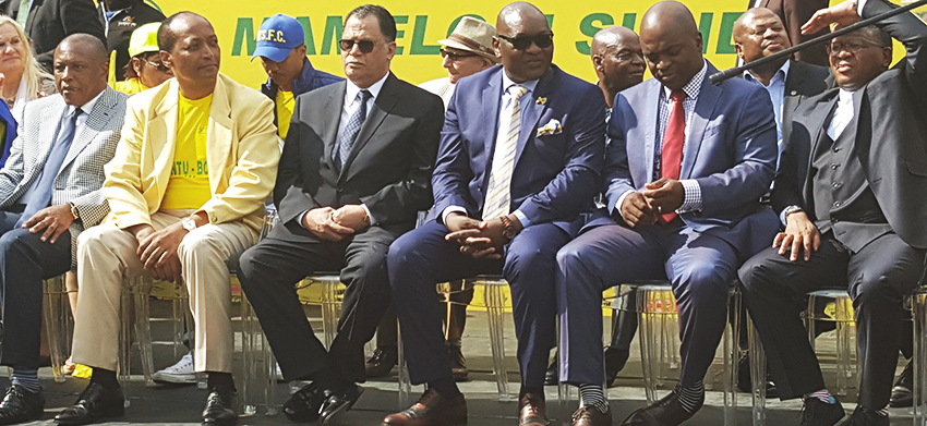 Thousands welcome Champions Sundowns back home