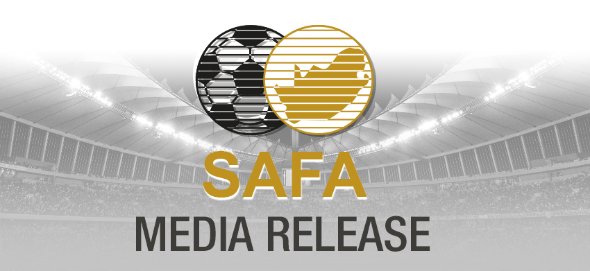 Draw for the SAFA/Burger King u19 Men's tournament