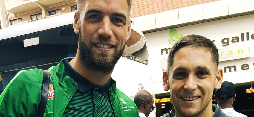 Bafana Bafana arrives in Polokwane to start preps for Senegal