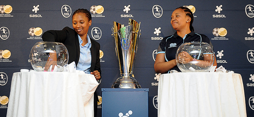 Draw for the 2016 Sasol League National Championships conducted