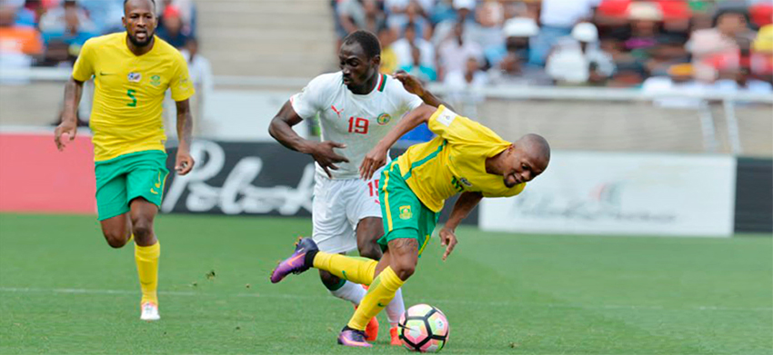 Bafana Bafana beat Senegal to send a statement of intent