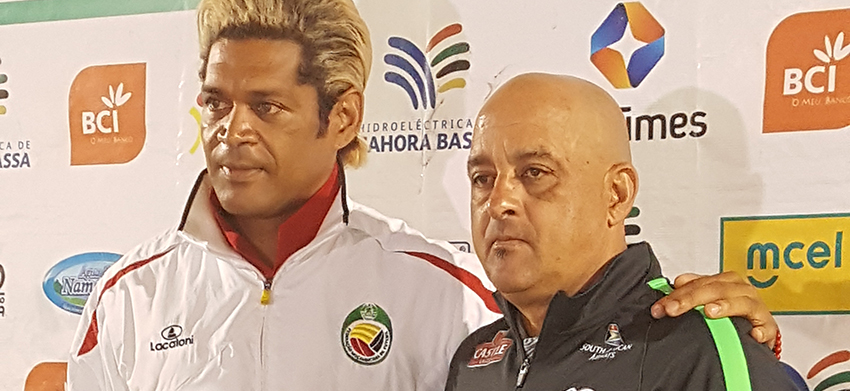 Da Gama makes changes for friendly against Mozambique