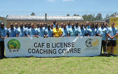 SAFA-CAF B Licence Coaching course concluded