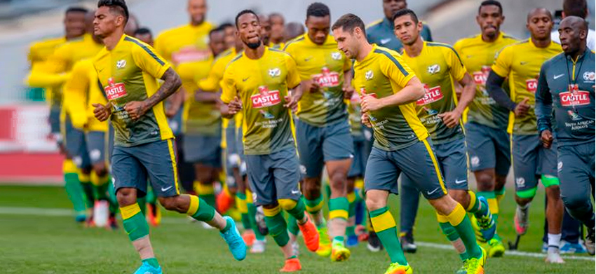 Bafana Bafana move 2 places up the FIFA world rankings