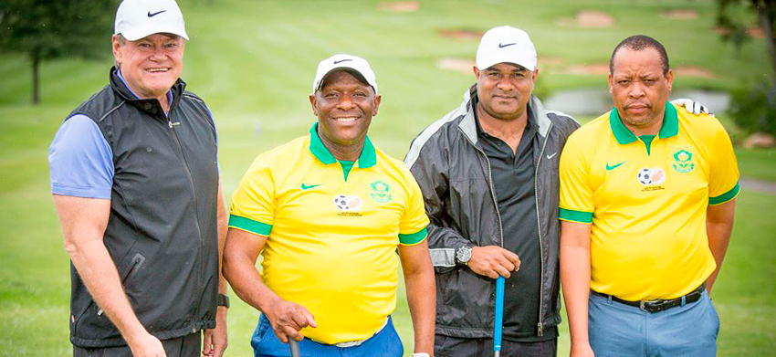 Pomp and ceremony at SAFA Golf Day