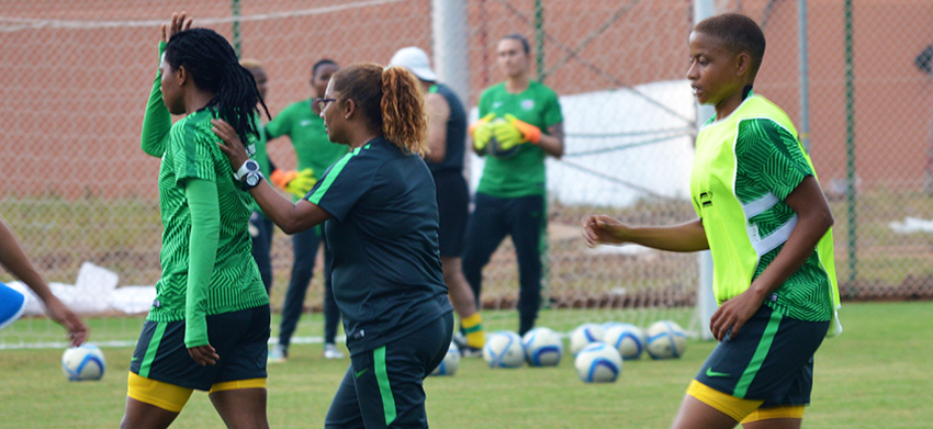 Sasol Banyana Banyana in high spirits ahead of Egypt clash