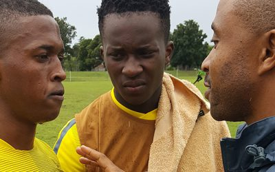 Luther Singh a rising star of SA football