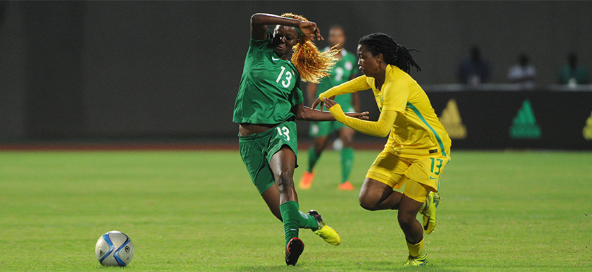 Nigeria beat Banyana Banyana to reach the final