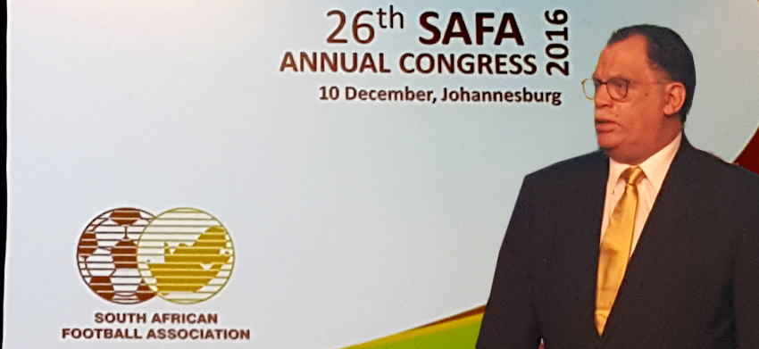 SAFA ANNUAL CONGRESS  : Presidents Address