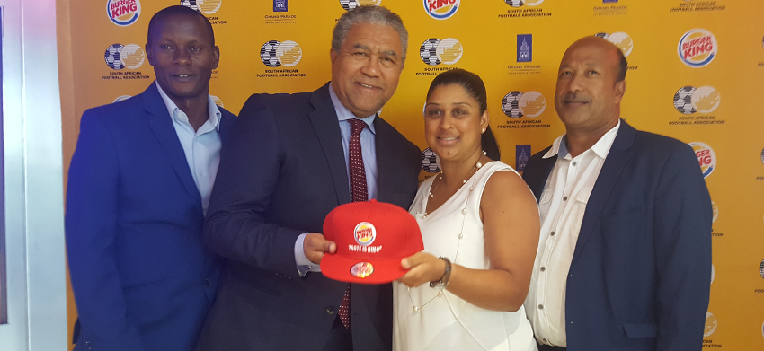Santos joins the party at the SAFA/Burger King u19 Men's Championship