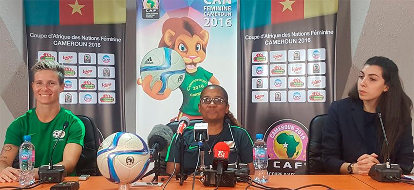 Banyana Banyana return home from Cameroon