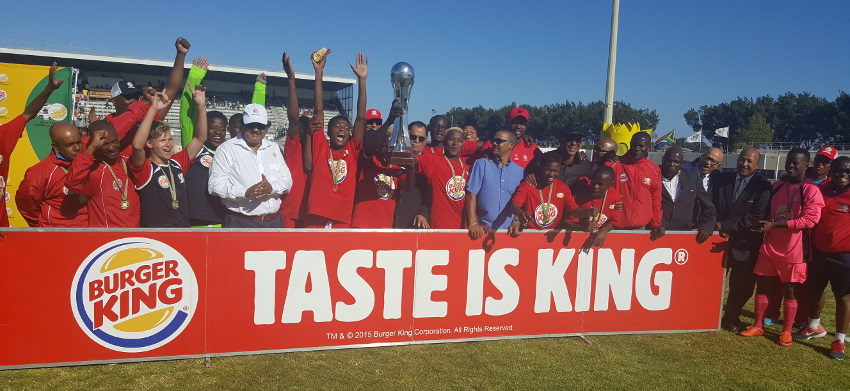 Gauteng crowned Kings of 2016 SAFA-Burger King u19 Men's Championship