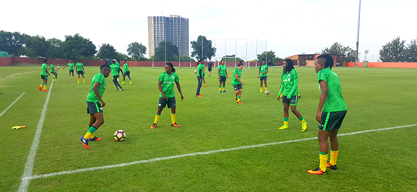 Banyana Banyana in camp to prepare for France clash