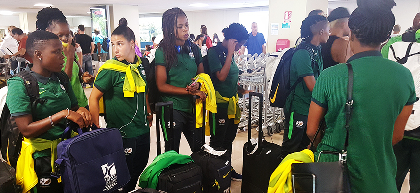 Banyana Banyana get down to business in Reunion