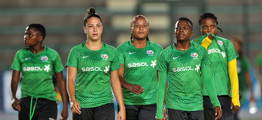 Seize the opportunity, Ellis tells Banyana Banyana players