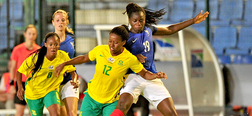 France down Banyana Banyana in Reunion Islands