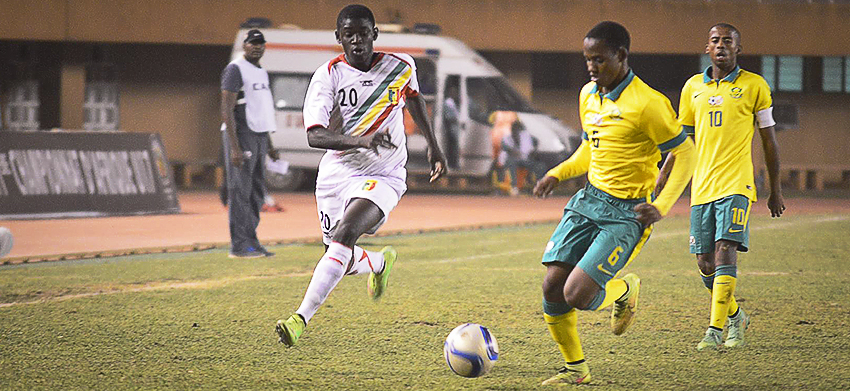 Amajita to play Mali in a friendly ahead of CAF U20 AFCON