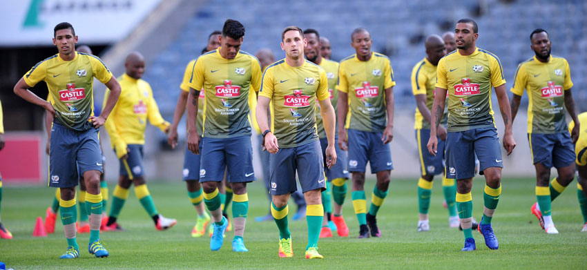 Busy 2017 ahead for Bafana Bafana