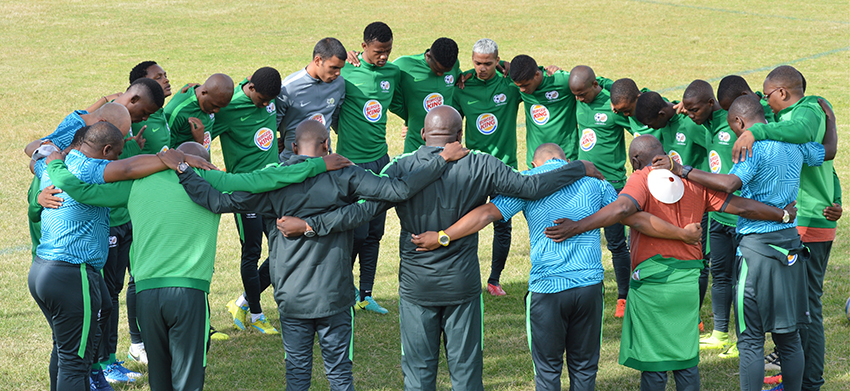 Amajita back in camp for second phase of AFCON preparations