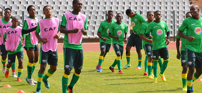 Amajita looking to boost confidence ahead of 2017 CAF U20 AFCON